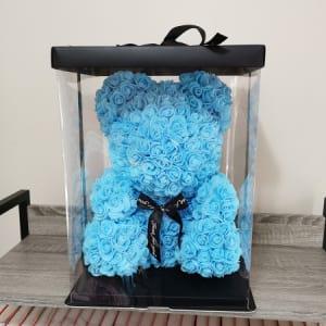 Rosie Bear Blue 40cm