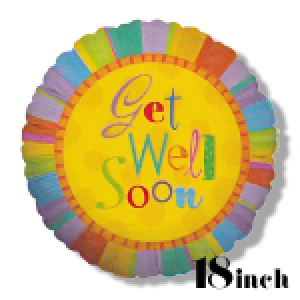 Get Well 18 Inch