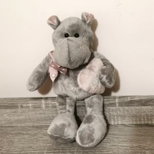 Hippo Grey 18cm