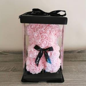 Rosie Bear Pink 25cm