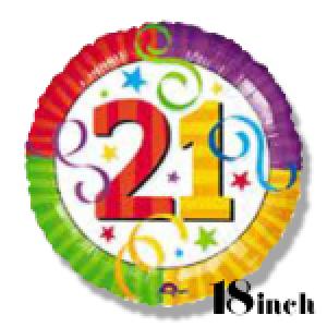 Num 21 18 Inch