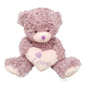 Teddy Mauve 28cm